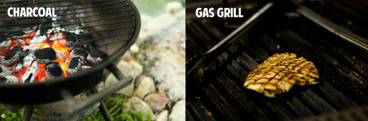 charcoal-gas-grill-cleanup
