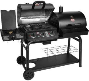 Char-Griller 5050 Duo Gas Charcoal Grill