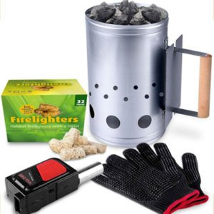 HOMENOTE Rapid Charcoal Chimney Starter