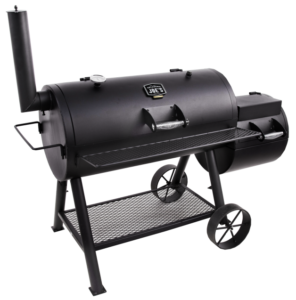 Oklahoma Joe Longhorn offset smoker