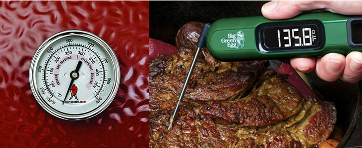 Kamado-Joe-Big-Green-Egg-thermometers