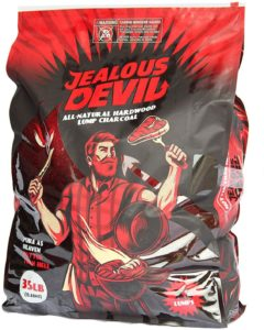 Jealous Devil hardwood lump charcoal