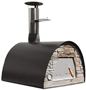 Maximus Black wood fire oven