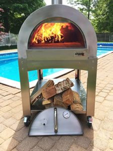 ilFornio basic wood fired pizza oven