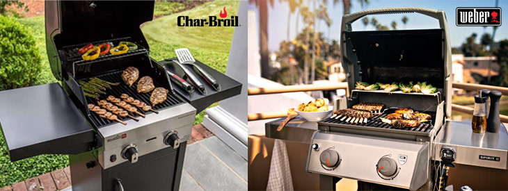 in depth comparison of char broil and weber grills
